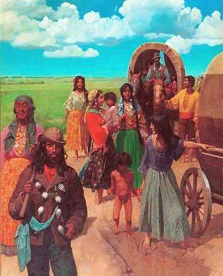 Vida Cigana - Época das Carroças