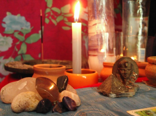 Altar cigano vela