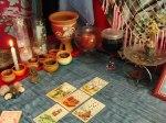 Consulta de Tarot Cigano no Altar dos Ciganos usando jogo de 5 Cartas do Baralho Cigano