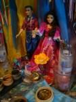 O casal de Ciganos do Altar dos Ciganos da Cigana Henriqueta * Tarot Cigano