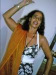 Cigana Henriqueta Dançando no dia de Ritual Cigano de Magia Cigana