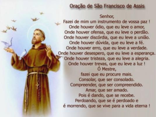 Oração são Francisco de Assis
